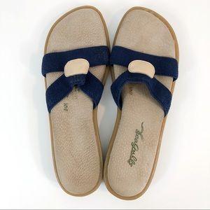 Rare Vintage Seagulls Slip on Sandals Beach Shoes